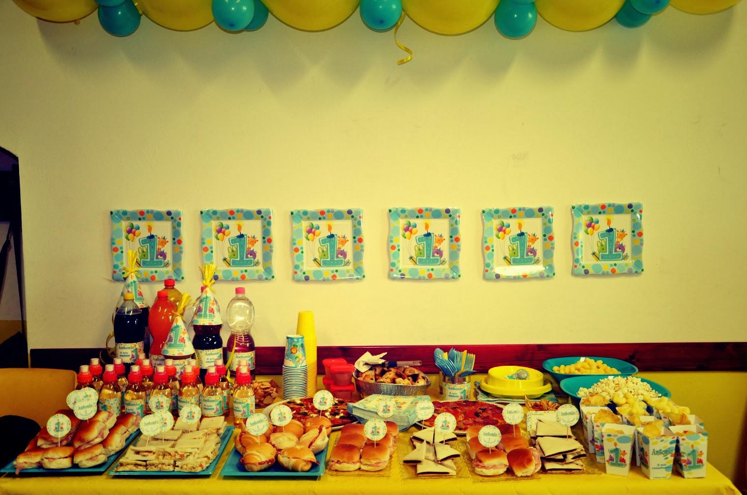 Ben noto Primo Compleanno ⋆ Tempo di Festa TQ32