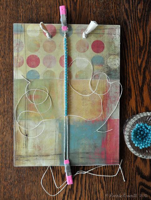 diy wrap bracelet | Lorrie Everitt Studio