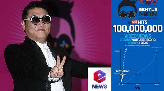 Gentleman của Psy đạt vị trí thứ 12 trên bảng xếp hạng Billboard