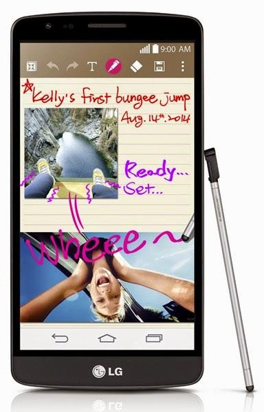 Spesifikasi dan Harga LG G3 Stylus D690