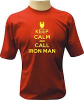Camiseta Homem de Ferro 3
