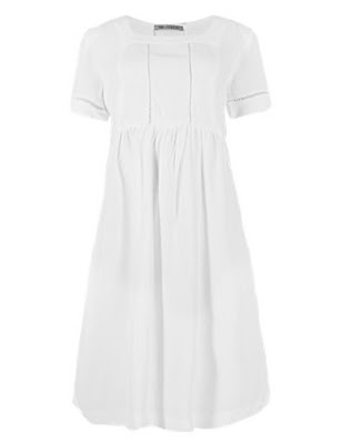Marks and Spencer Square Neck Drop Waist Dress