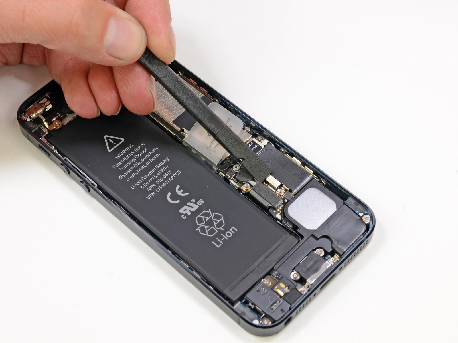 Схема как разобрать iphone