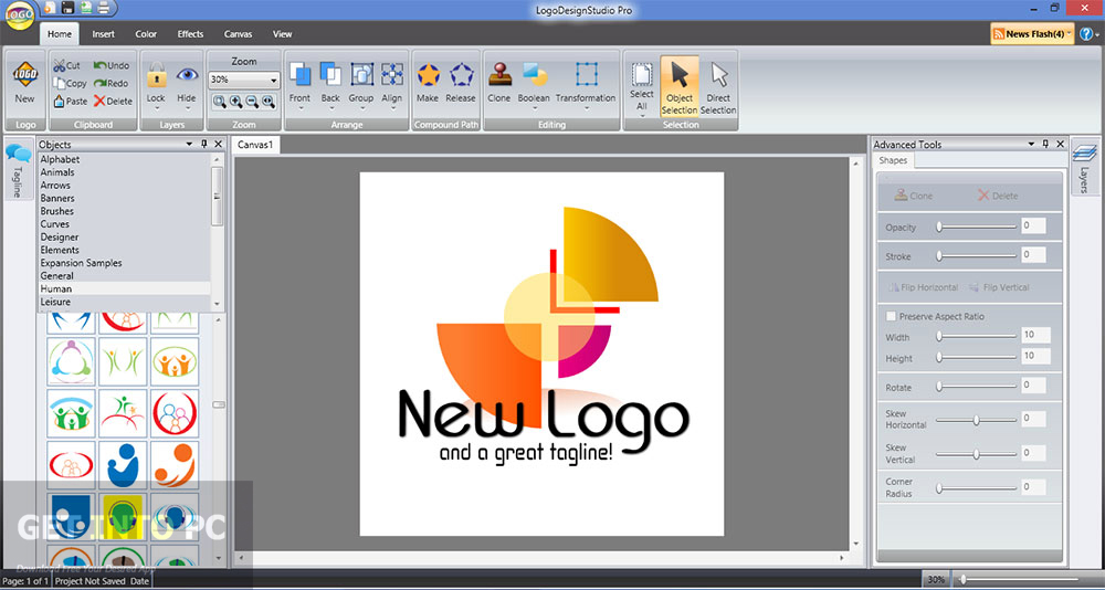 Logo design shop summitsoft