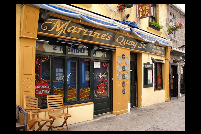 Image of Martine's restaurant on Quay street Galway