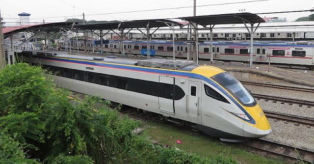 Jadual Perjalanan Dan Harga Tiket Tren ETS Kuala Lumpur - Padang Besar