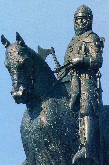 Robert Bruce, estátua em Bannockburn
