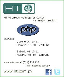 Imagen del curso de PHP