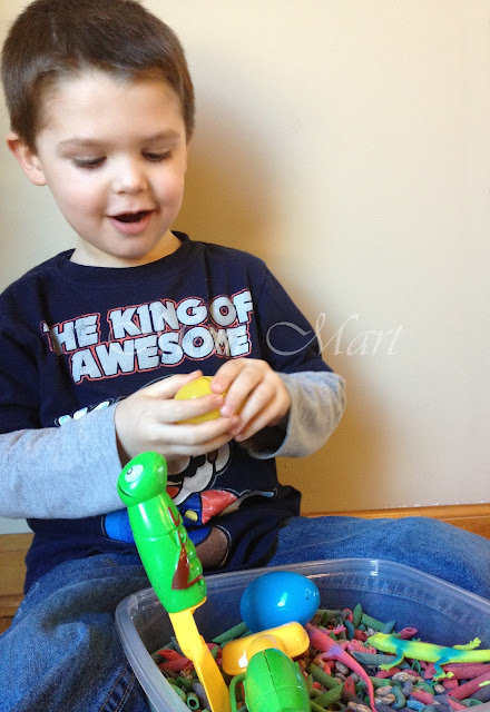 Sensory Bin for Boys