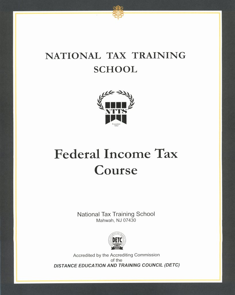 My Reviewpoint Review Of National Tax Training School