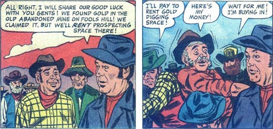more F-Troop 6 panels of Sgt. O'Rourke