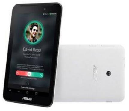 """Asus FE170CG Fonepad 7"""" 8GB 3G - White"""