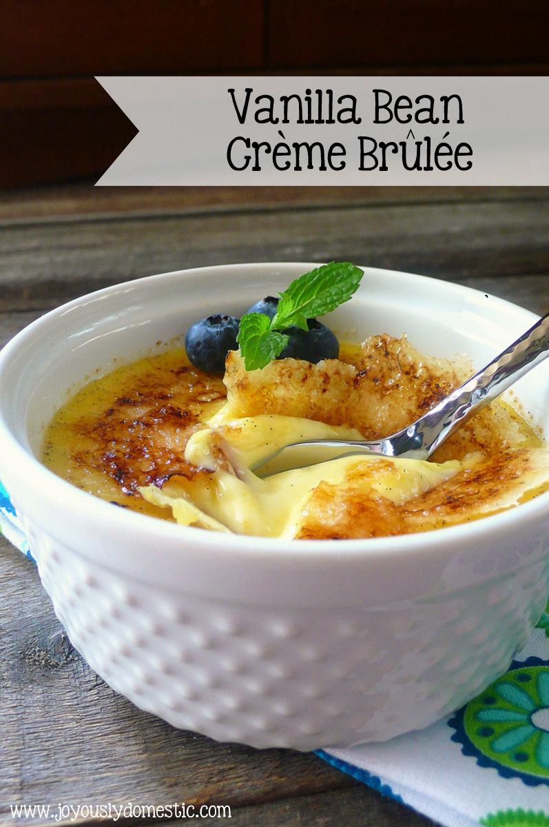 Vanilla Bean Creme Brulee Recipe — Dishmaps