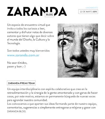 Zaranda blog