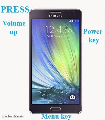 Hard Reset Samsung Galaxy A7-A7 Duos (SM-A700-SM-A7000)