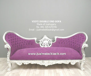 Supplier Furniture Classic Indonesia Supplier Sofa Classic finishing cat silver duco