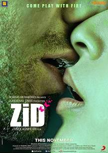 Watch Zid (2014) Non Retail DVDRip Hindi Full Hot Movie Watch Online Free Download