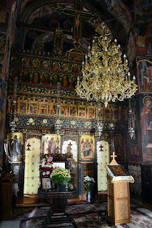 Monastery Church Polovragi-    iconostasis