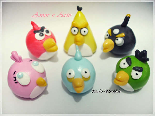 Angry Birds, em biscuit