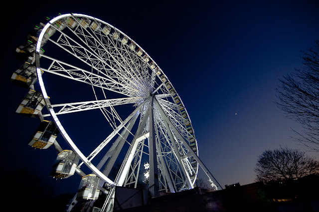 The winter wonderland of Hyde Park. Photo: Courtesy of HydeParkWinterWonderland.com.