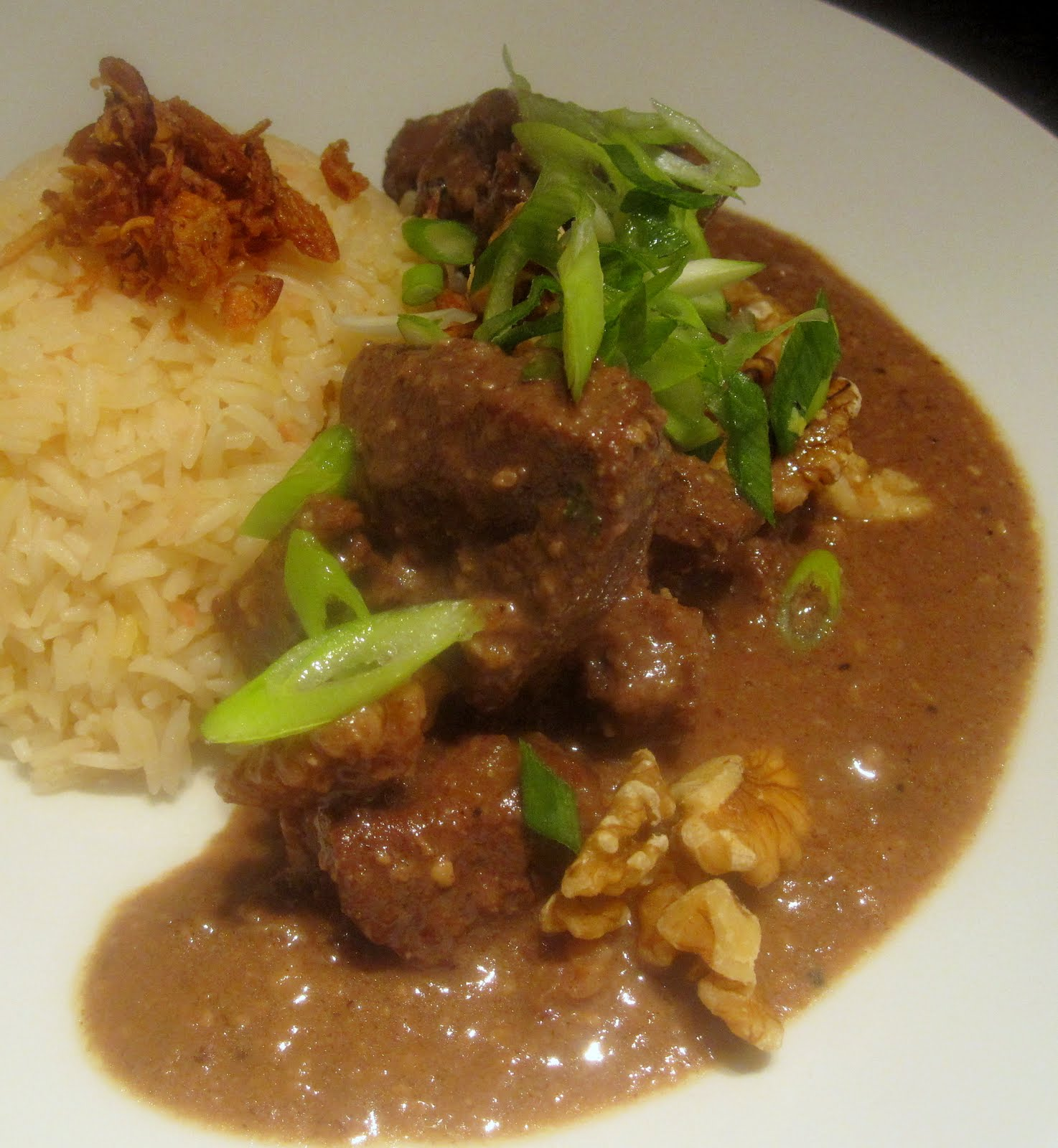 Bubbles n Squeaks: Lamb Fesenjan - Persian Lamb Stew with Pomegranate ...