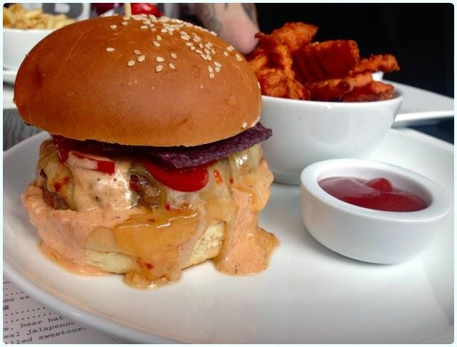 Solita Manchester - Burger