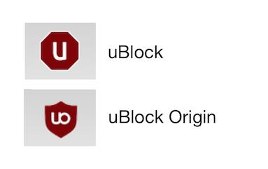 uBlock & uBlock Origin