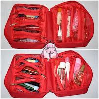 Multi Compartment Travel Organizer