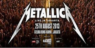 Konser Metallica di Jakarta Tadi Malam Berjalan Lancar