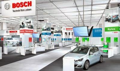 Bosch prezinta numeroase inovatii la targul Automechanika 2014