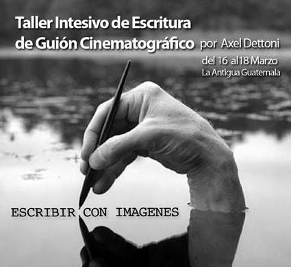 Escribir con imágenes - Taller de guión cinematográfico