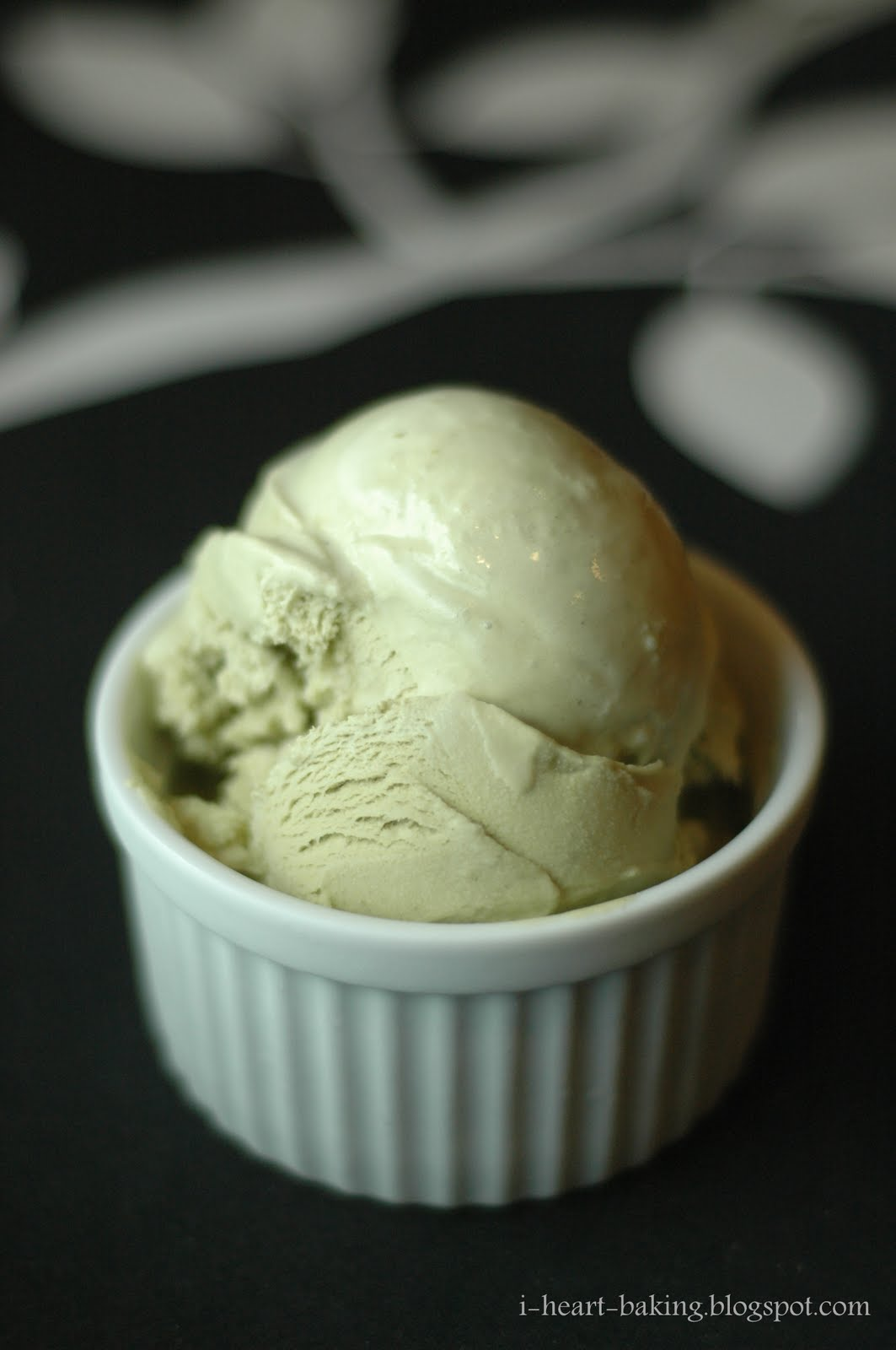 Jasmine Green Tea Ice Cream Recipe — Dishmaps