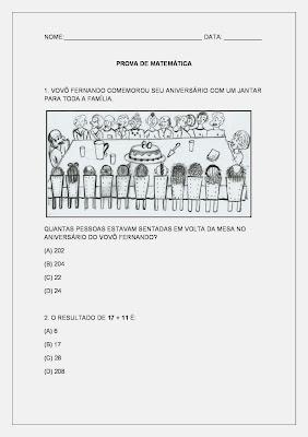 Atividades de Matemática - www.atividades-matematica.com