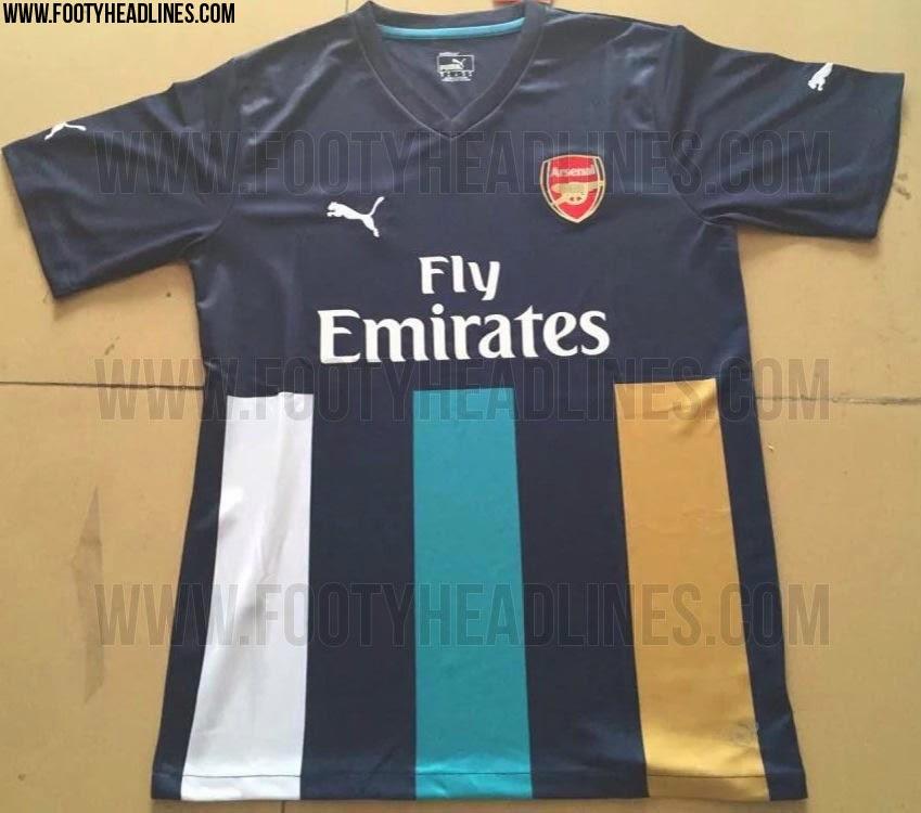 jersey arsenal 2016