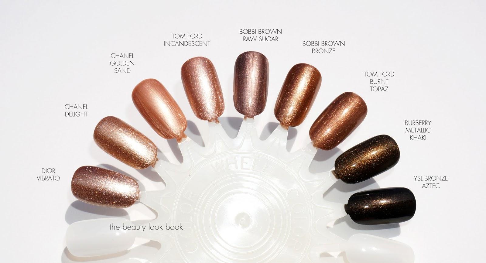 Golden Brown Nail Polish   Best Nail Designs 2018