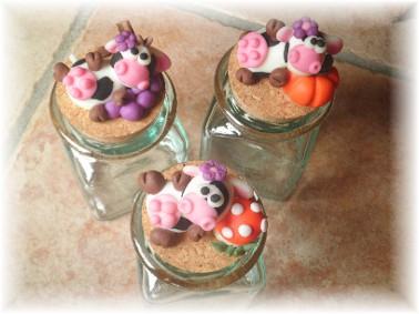 Deco gifts creazioni in pasta di mais barattoli decorati - Barattoli pasta cucina ...