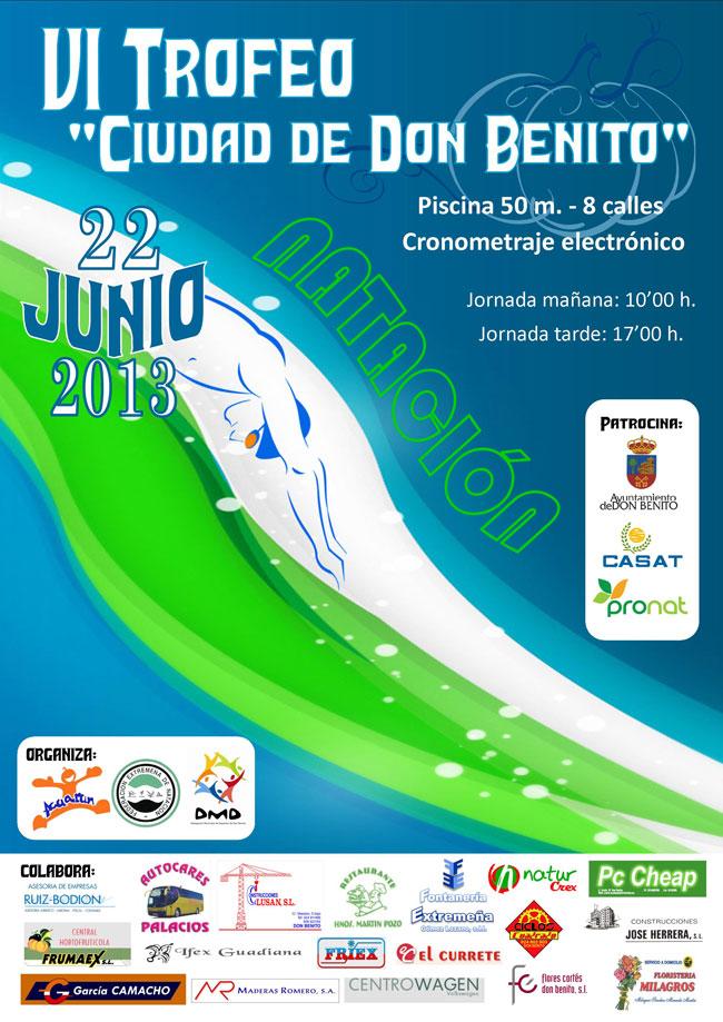 Alonso lozano mi blog vi trofeo de nataci n ciudad de for Piscina don benito