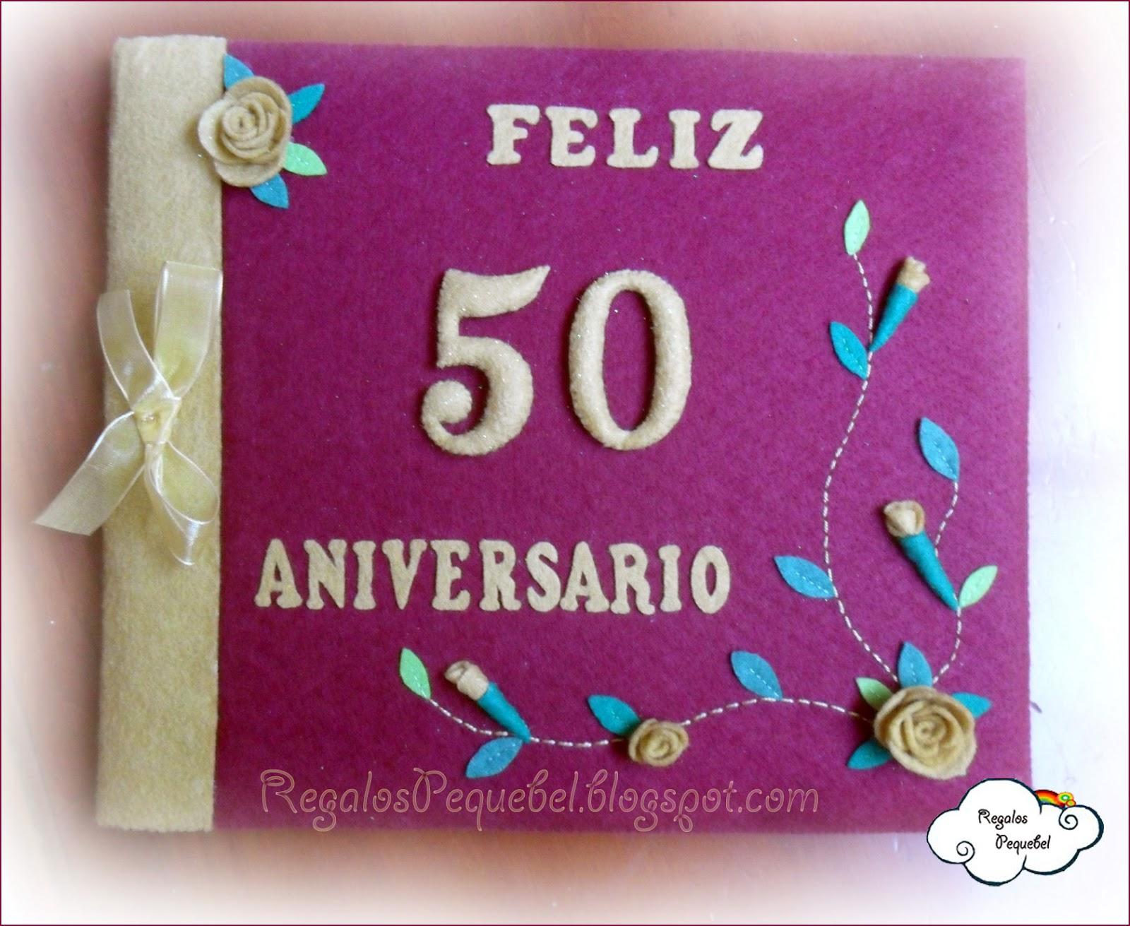 Libro 50 aniversario de boda con rosas regalos pequebel for Regalo especial aniversario