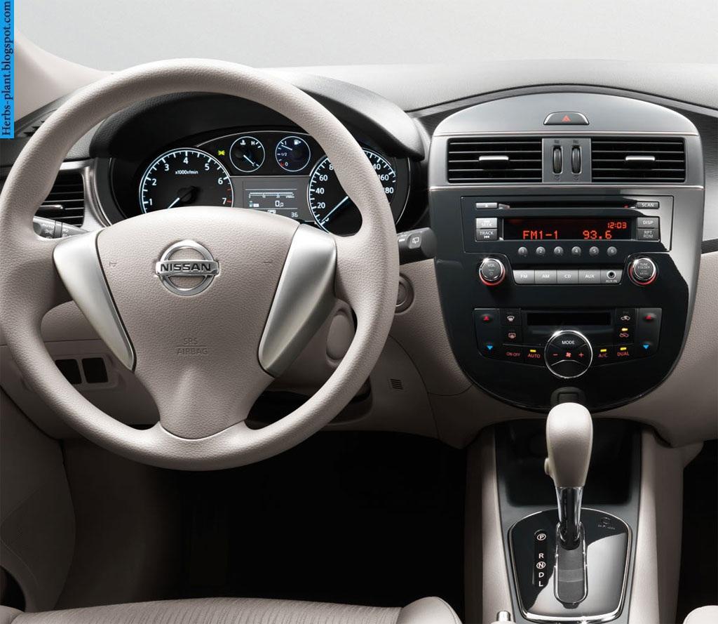 Nissan tiida car 2013 dashboard - صور تابلوه سيارة نيسان تيدا 2013