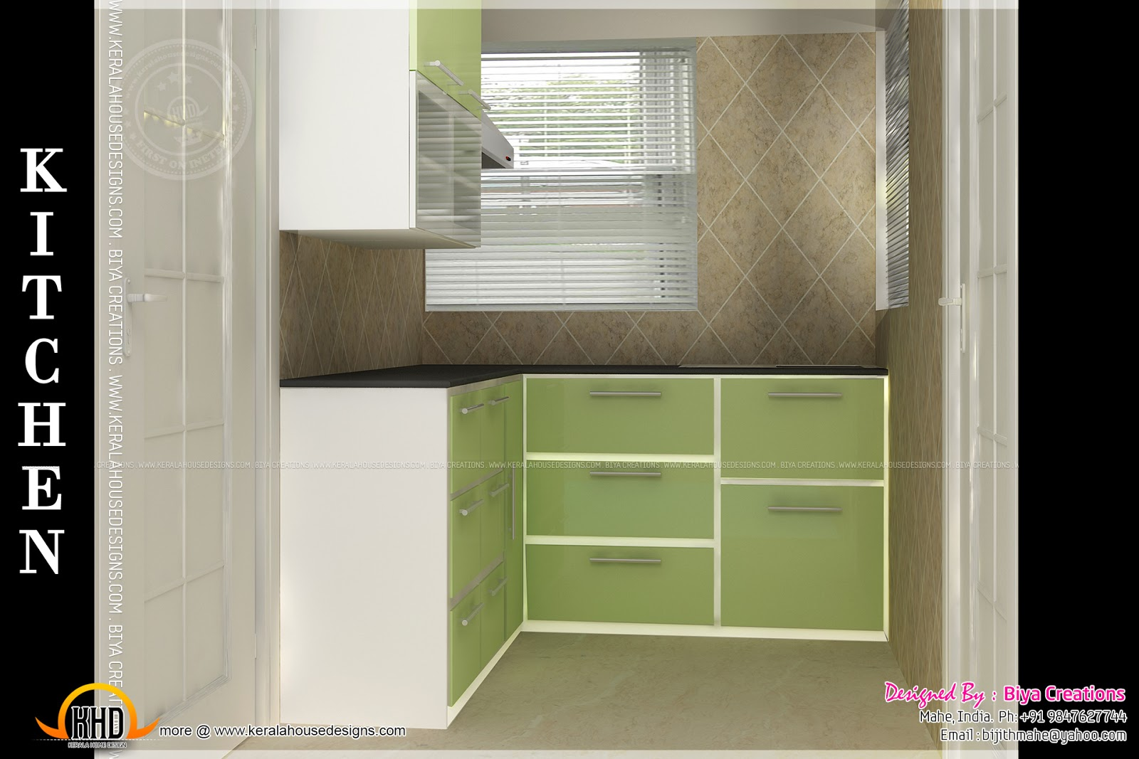 Bedroom Interior Kid Small Kitchen