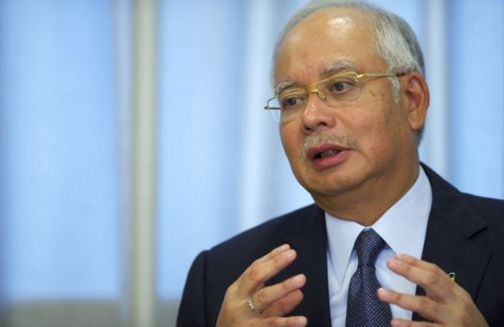 Luahan Najib isu dana RM2.6 bilion