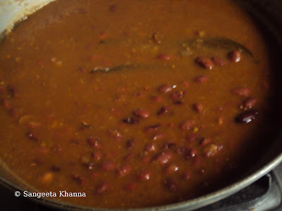 kashmiri rajma recipe