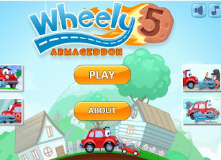 Wheely 5 Armageddon awesome and nice Puzzle Games online free play