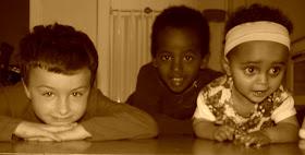 die drie van ons