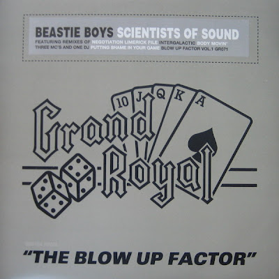 Beastie Boys – Scientists Of Sound / The Blow Up Factor Vol. 1 EP (Vinyl) (1999) (320 kbps)