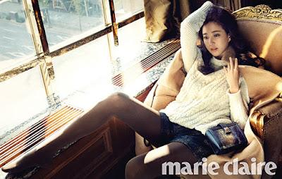 Kim Sarang Marie Claire November 2015