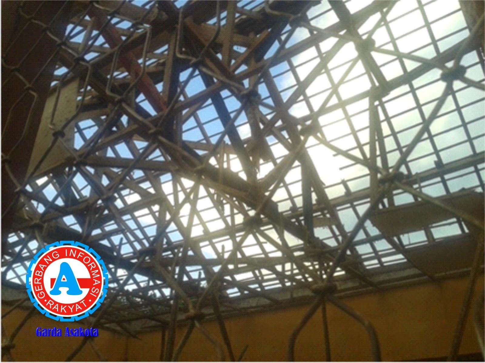 Atap Gedung SDN-5 dan  SDN Jo Rato Sape Rusak