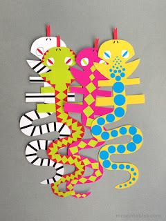 fantoches dedoches para imprimir cobra serpente