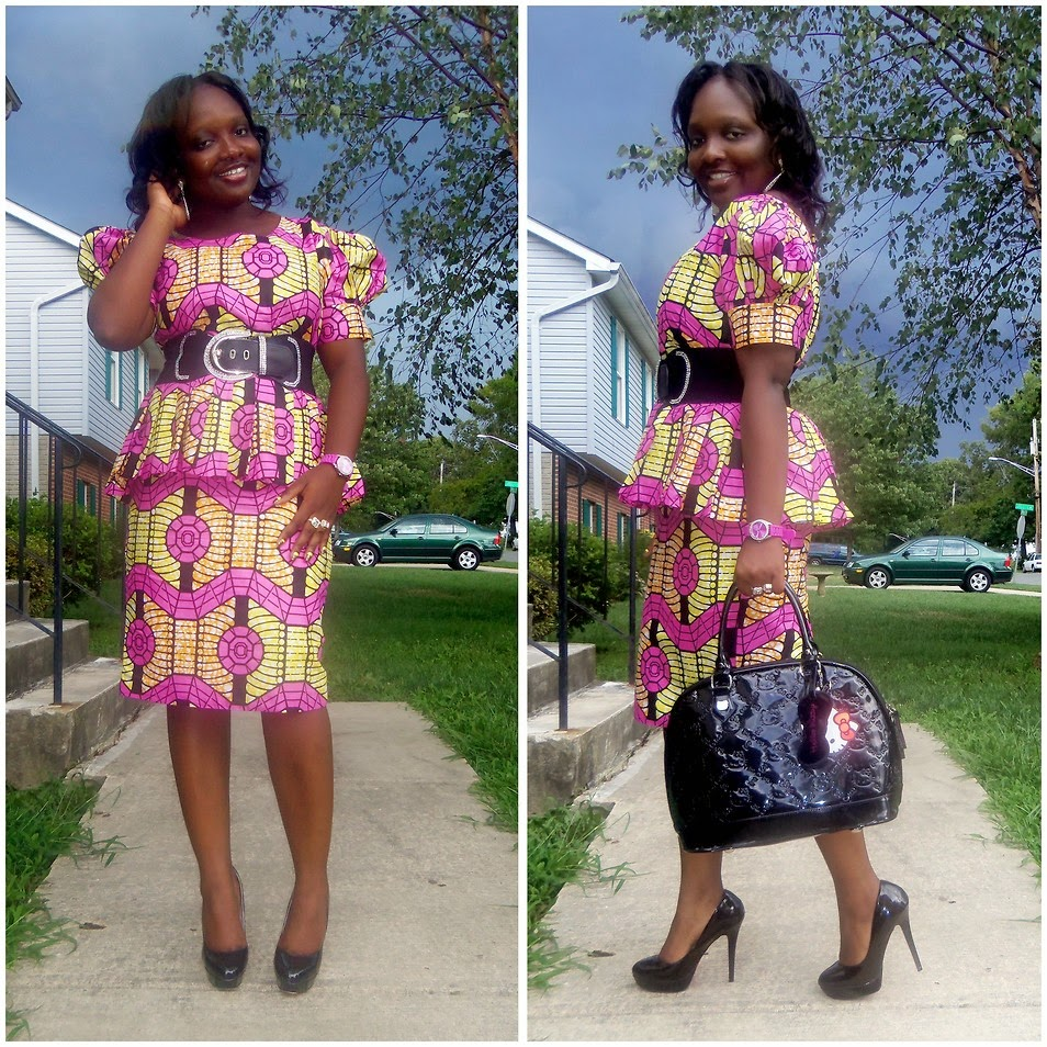 Skirt And Blouse Sew With Ankara 66