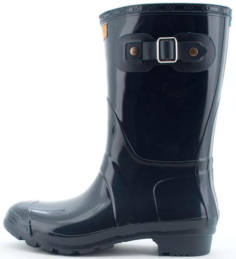 botas de agua planas